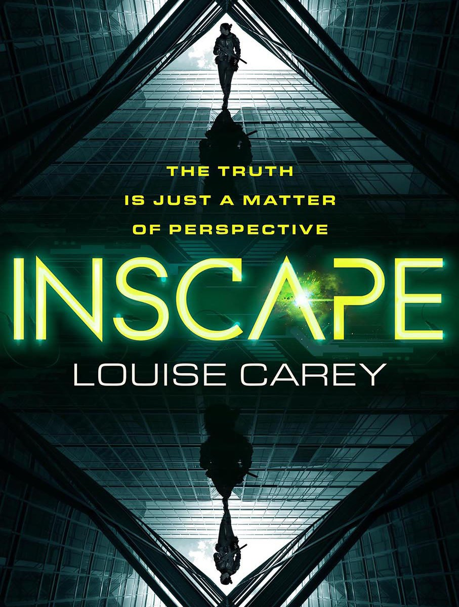 The cover of Inscape by Louise Carey